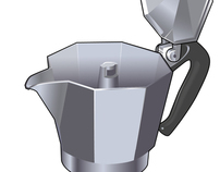 Coffee Pot Exploded View