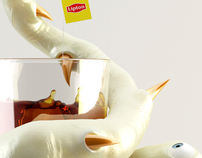 LIPTON - Everyone's invi-TEA-d