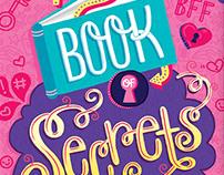 My Book of Secrets Book Cover Illustration & Design