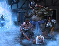 AAU Fantasy Illustration- Bloodbones 2015 WIP
