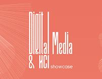 Event Branding: Digital Media & HCI Showcase 2018