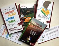 Kalandkönyvek series - editorial design, illustration