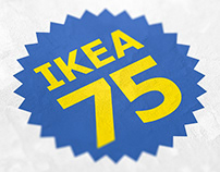 IKEA 75 Pressbook