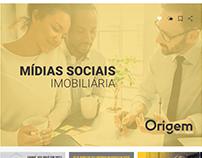 Mídia social imobiliária