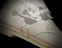 Clarks & Mickey Mouse Collaboration 3D Film   CGI