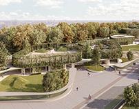 Contest: School complex Scialoia in Milan
