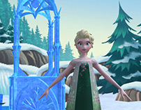 Frozen: Early Science (Mobile App Art)