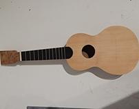 Ukulele soprano handmade