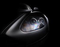 Aston Martin DB9 fine art photography (FDL technique)