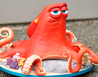 Hank the Octopus nay, Septopus Cake Video