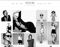 OSHINE - Perfect theme for Photography Portfolio