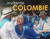 Travel Book design - Invitante Colombie