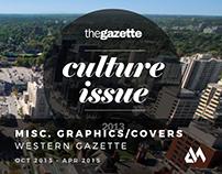 Misc. Western Gazette Graphics