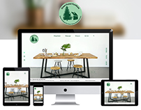 Green Forest Furniture Web Design
