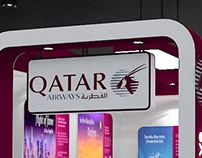 Exhibition Stall Design for Qatar Airways - 02