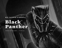 Black Panther Concept Ui Design