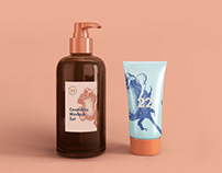 Soap Dispenser & Cream Tube – Free Cosmetic Mockup