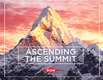 Dow 7 Summits Event Branding