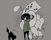 Kokonotu to boku ネコは怖い