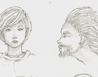 Sketches from 2008