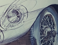 Automotive sketches