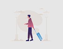 Traveler Illustration 03