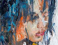 """""""Pristine 01"""", oil on canvas"""