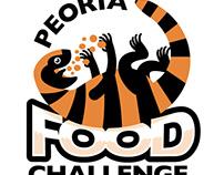 Peoria Food Challenge logo