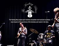 The Healing Blues Website