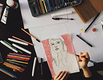 Illustration.creative process