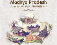Madhya Pradesh Foundation Day   Invitation