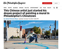Ground Mural Project in Philadelphia Chinatown