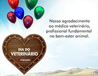 Material gráfico para o dia do veterinário