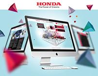 Honda 30 años en México / Website