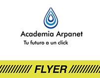 Diseño Flyer Academia