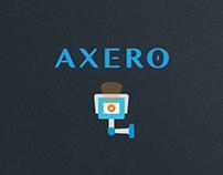 AXERO - logo/dm/ui