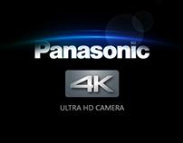Panasonic 4K Camera campaign