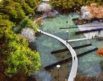 Park inspired by Kandinsky