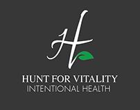 Hunt for Vitality logo creation