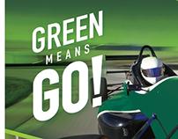 Ivy Tech Indy 500 program ad