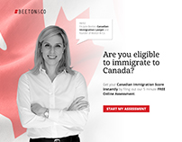 Beeton & Co Landing Page for Free Assessment