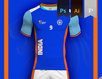 INDIA Home kit - Kabbadi World Cup 2016