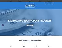 Zoetic Multipurpose Website Concept