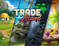 Trade Island game art