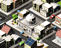 Pattern City - 29 Days Isometric Challenge