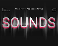 SOUNDS | Music Player App Design for iOS