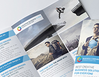 Creative Business Trifold