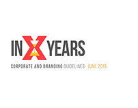 """In X Years"" Branding project '15"