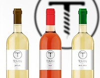 Tomin Wine Labels