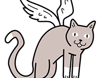 Flying Feline